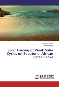Solar Forcing of Weak Solar Cycles on Equatorial African Plateau