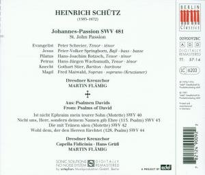 Johannes-Passion/Psalmen Davids