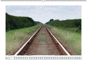 Schienen-Wege ins Irgendwo (Wandkalender 2016 DIN A2 quer)