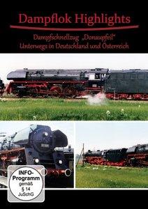 """Dampflok Highlights (Dampfschnellzug """"Donaupfeil"""")"""