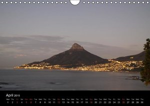 Impressions from Cape Town (Wall Calendar 2015 DIN A4 Landscape)