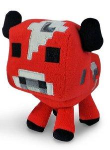 Minecraft 16528 - Stofftier Baby Pilzkuh, 18 cm