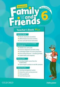 American Family and Friends 6. Teacher\'s Book Plus