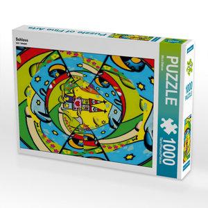 Schloss 1000 Teile Puzzle hoch