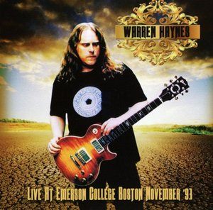 Live At Emerson College Boston Nov.93