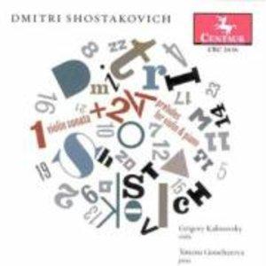 24 Präludien f.Violine u.Klavier/Violinson.op.134