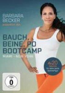 Barbara Becker präsentiert das Bauch, Beine, Po-Bootcamp Miami /