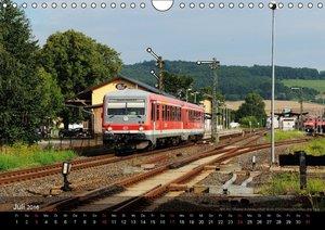 Eisenbahn in Mitteldeutschland (Wandkalender 2016 DIN A4 quer)