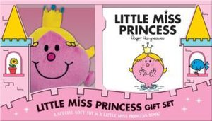 Little Miss Princess Book and Plush