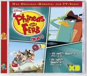 Phineas & Ferb TV Serie Folge 3
