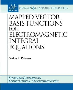 Mapped Vector Basis Functions for Electromagnetic Integral Equat