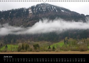 Beautiful Bavarian Alps (Wall Calendar 2016 DIN A3 Landscape)