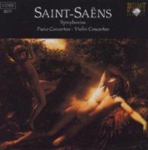 Complete Symphonies/Piano Concertos/+