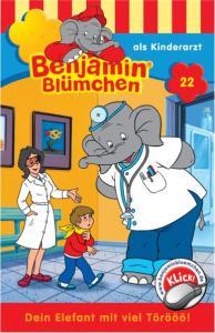 Benjamin Blümchen 022 als Kinderarzt. Cassette - zum Schließen ins Bild klicken