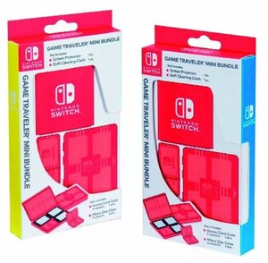 PROTECTION PACK NNS10 für Nintendo Switch, Game Traveler Mini Bu