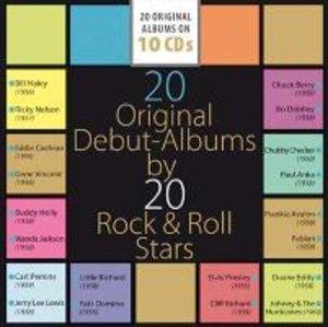 20 Original Albums Rock + Roll