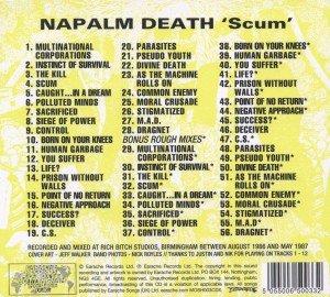 Scum (Re-Release Incl.Bonus CD)