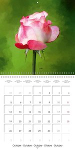 La magie des roses (Calendrier mural 2015 300 × 300 mm Square)
