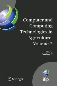 Computer and Computing Technologies in Agriculture 2