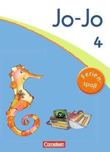 Jo-Jo Sprachbuch 4. Schuljahr. Ferienspaß mit Jo-Jo. Übungsheft