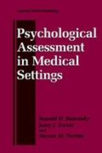 Psychological Assessment in Medical Settings