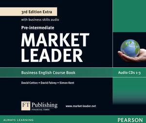 Market Leader Plus Pre-Intermediate Class Audio CD