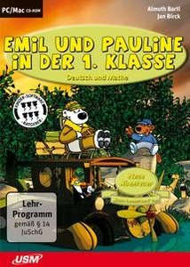 Emil und Pauline in der 1. Klasse - Deutsch und Mathe
