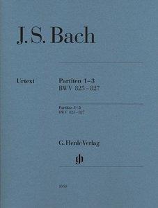 Partiten 1-3 BWV 825-827