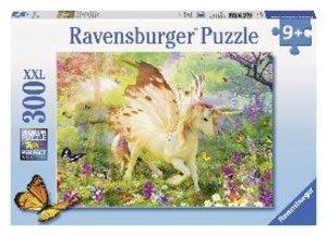 Einhorn im Zauberwald. Puzzle 300 Teile