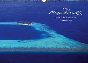 MALDIVES - UK Version (Wall Calendar 2015 DIN A3 Landscape)
