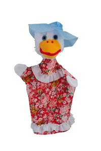 Kersa 14066 - Stadtgans Polly, Handpuppe Classic Reihe