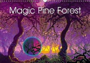 Magic Pine Forest (Wall Calendar 2016 DIN A3 Landscape)