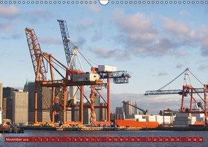 Ansichten vom Hafen (Wandkalender 2016 DIN A3 quer)