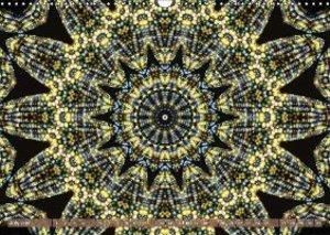 Rainbow Corn Kaleidoscope (Wall Calendar 2015 DIN A3 Landscape)