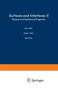 Surfaces and Interfaces II