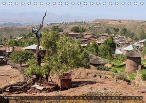 Äthiopien, ursprüngliches Afrika (Tischkalender 2017 DIN A5 quer