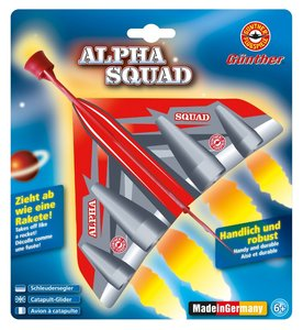 Günther 1447 - Alpha Squad Schleudersegler, 22x19cm