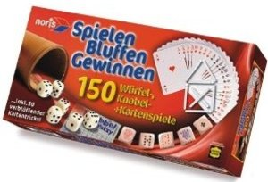 Noris 606154317 - Spielen, Bluffen und Gewinnen
