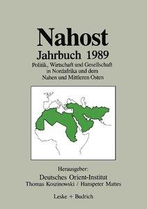Nahost Jahrbuch 1989
