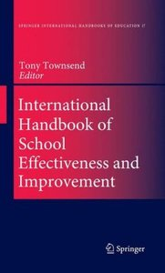 International Handbook of School Effectiveness and Improvement