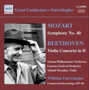 Sinfonie 40/Violinkonzert