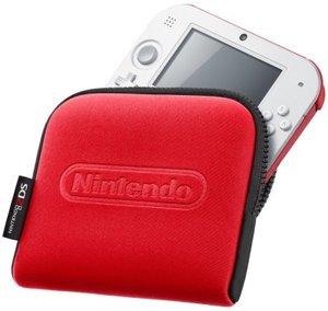 Nintendo 2DS - Tasche, rot