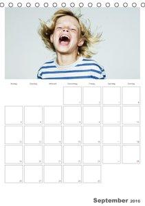 So ein Spaß - Kinderlachen (Tischkalender 2016 DIN A5 hoch)