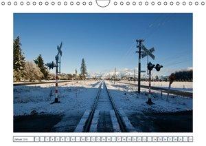 Schienen-Wege ins Irgendwo (Wandkalender 2016 DIN A4 quer)