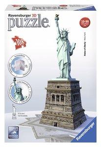 Freiheitsstatue. 3D Puzzle-Bauwerke