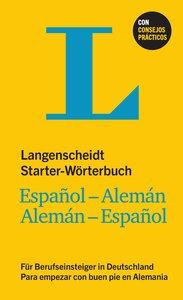 Langenscheidt Starter-Wörterbuch Español-Alemán für Berufseinste
