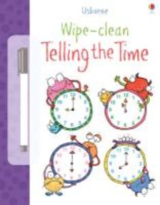 Wipe Clean: Telling the Time