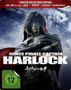 Space Pirate Captain Harlock BD 3D/2D+DVD