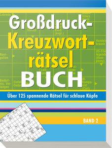 Großdruck-Kreuzworträtselbuch 2