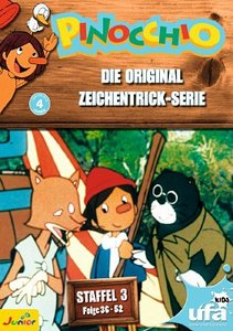 Saito, H: Pinocchio TV-Serien Box 3/3 DVD